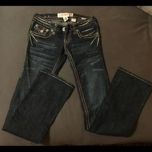 Denim - Flared jeans low rise